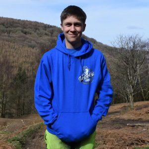 Tirpentyws Trails Blue Hoodie