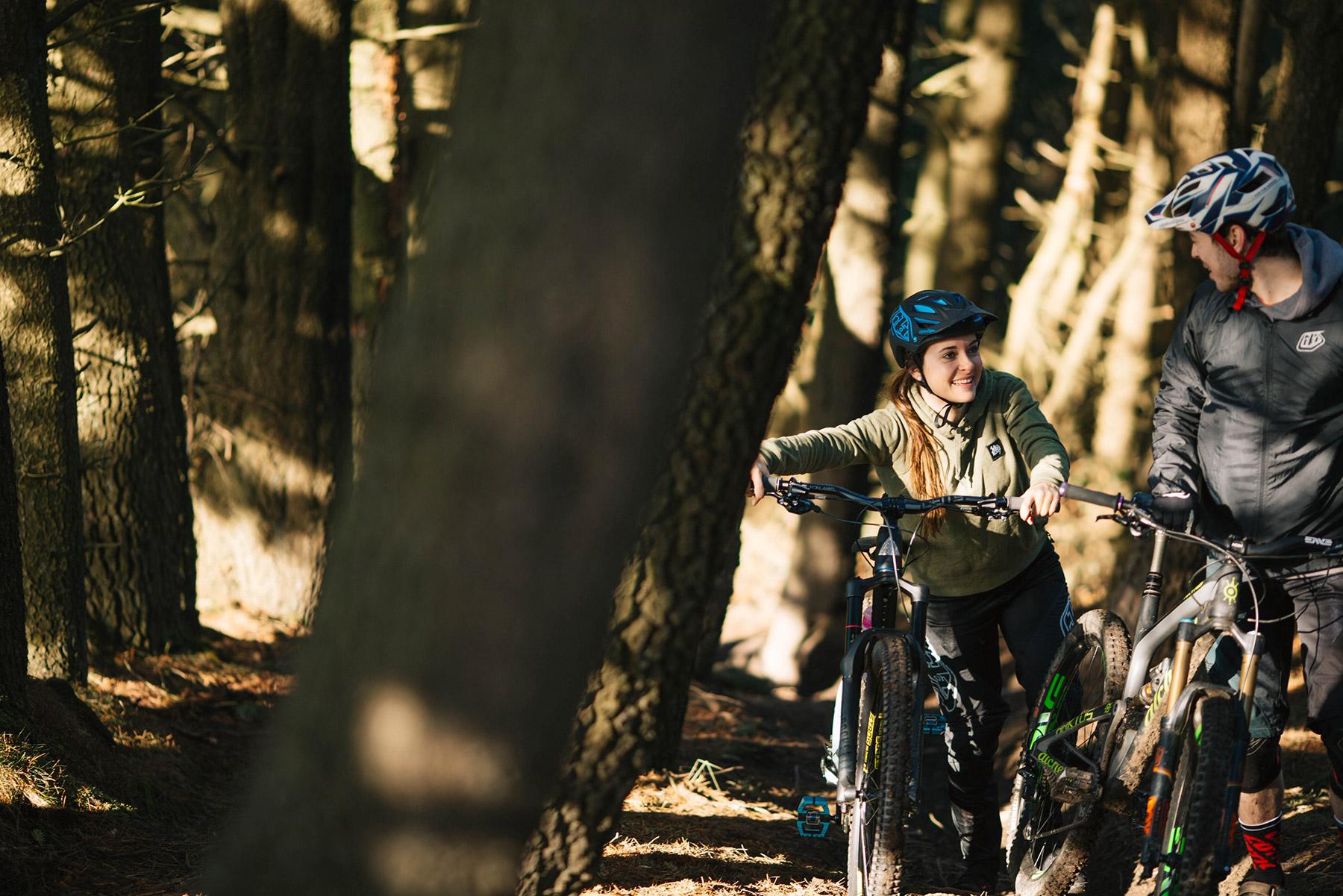 Veronique Sandler at Tirpentwys Trails
