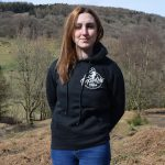 Tirpentyws Trails Ladies Black Hoodie