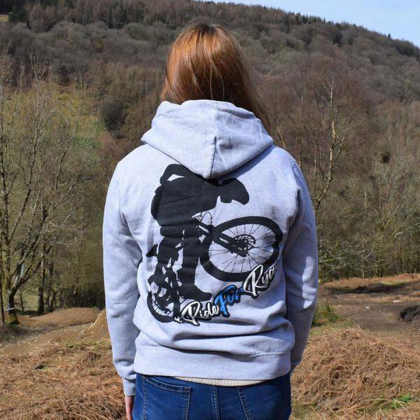 Tirpentyws Trails Ladies Grey Hoodie