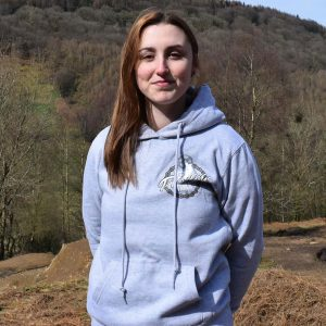 Tirpentyws Trails Ladies Grey Hoodie