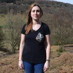 Tirpentyws Trails Ladies Black T Shirt
