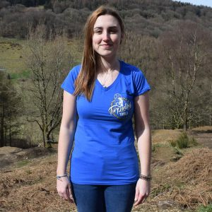 Tirpentyws Trails Ladies Blue T Shirt