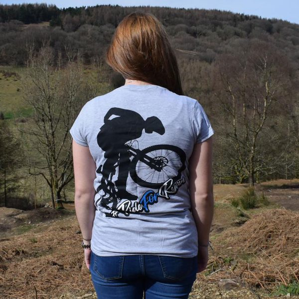 Tirpentyws Trails Ladies Grey T Shirt