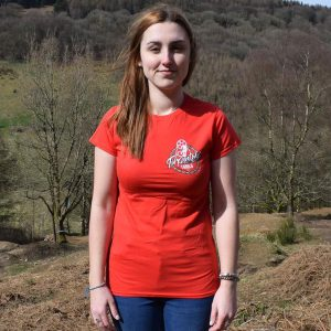 Tirpentyws Trails Ladies Red T Shirt