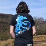 Tirpentyws Trails Black T Shirt