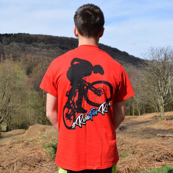 Tirpentyws Trails Red T Shirt