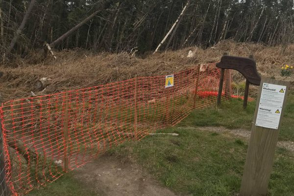 Tirpentwys Trails Officially Closed during Covid 19