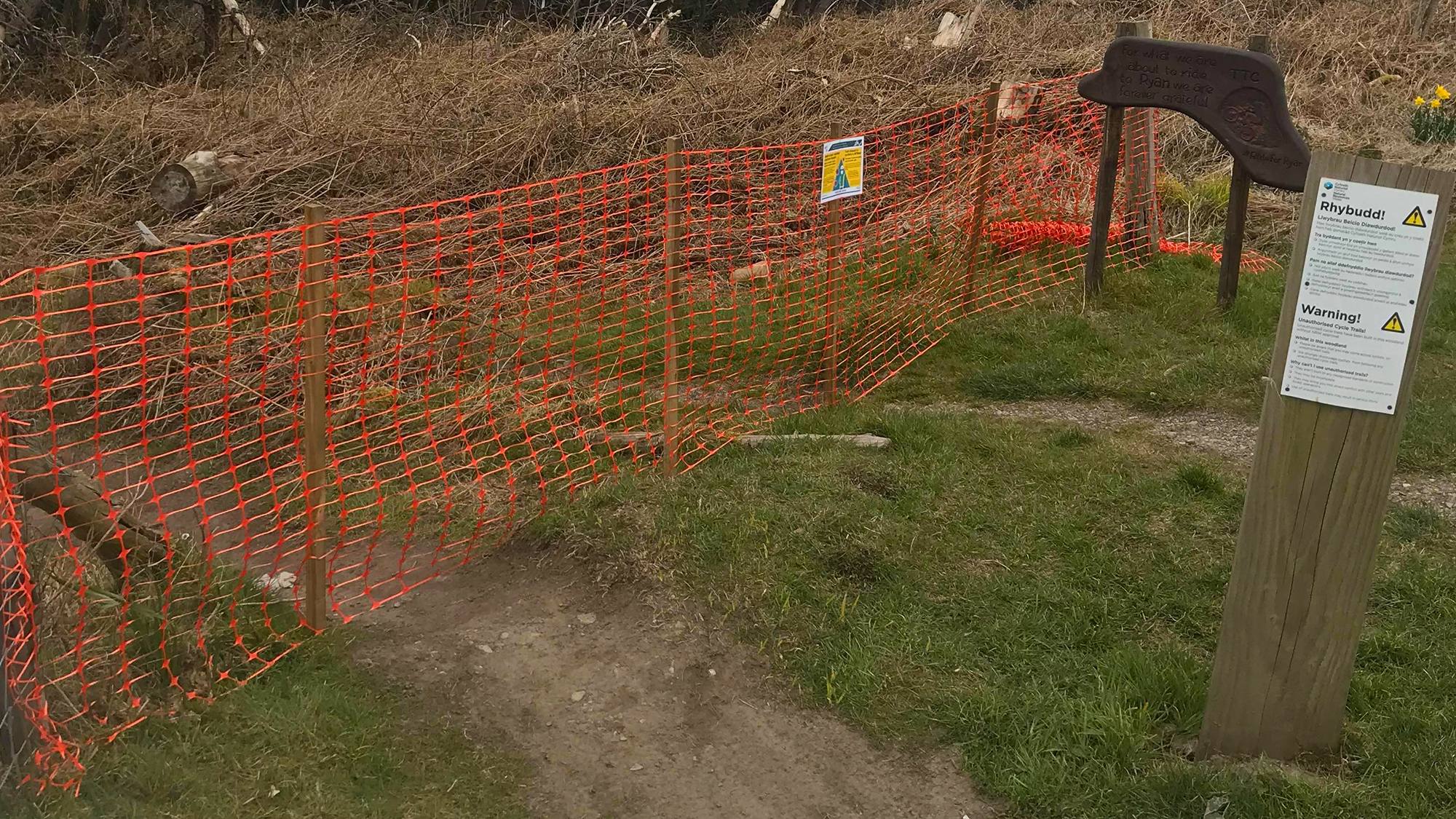Trails Officially CLOSED